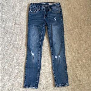 Girls AG jeans.